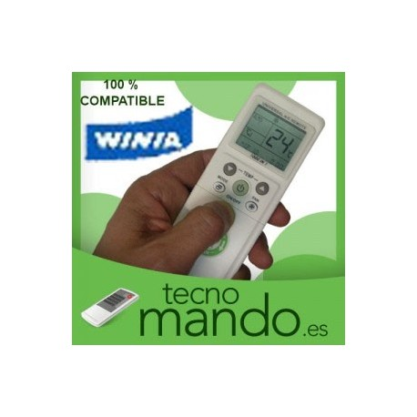 WINIA - MANDO A DISTANCIA AIRE ACONDICIONADO 100% COMPATIBLE