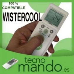 WISTERCOOL - MANDO A DISTANCIA AIRE ACONDICIONADO 100% COMPATIBLE