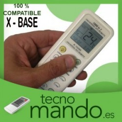 X-BASE - MANDO A DISTANCIA AIRE ACONDICIONADO  100% COMPATIBLE