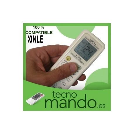 XINLE - MANDO A DISTANCIA AIRE ACONDICIONADO 100% COMPATIBLE