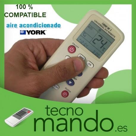 YORK - MANDO A DISTANCIA AIRE ACONDICIONADO  100% COMPATIBLE