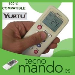 YUETU - MANDO A DISTANCIA AIRE ACONDICIONADO 100% COMPATIBLE