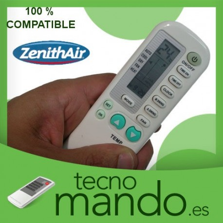 ZENITH-AIR - MANDO A DISTANCIA AIRE ACONDICIONADO  100% COMPATIBLE